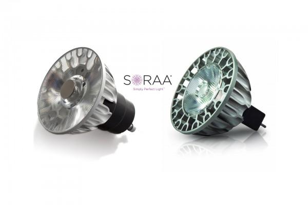 Soraa LED lampe med GU10 sokkel