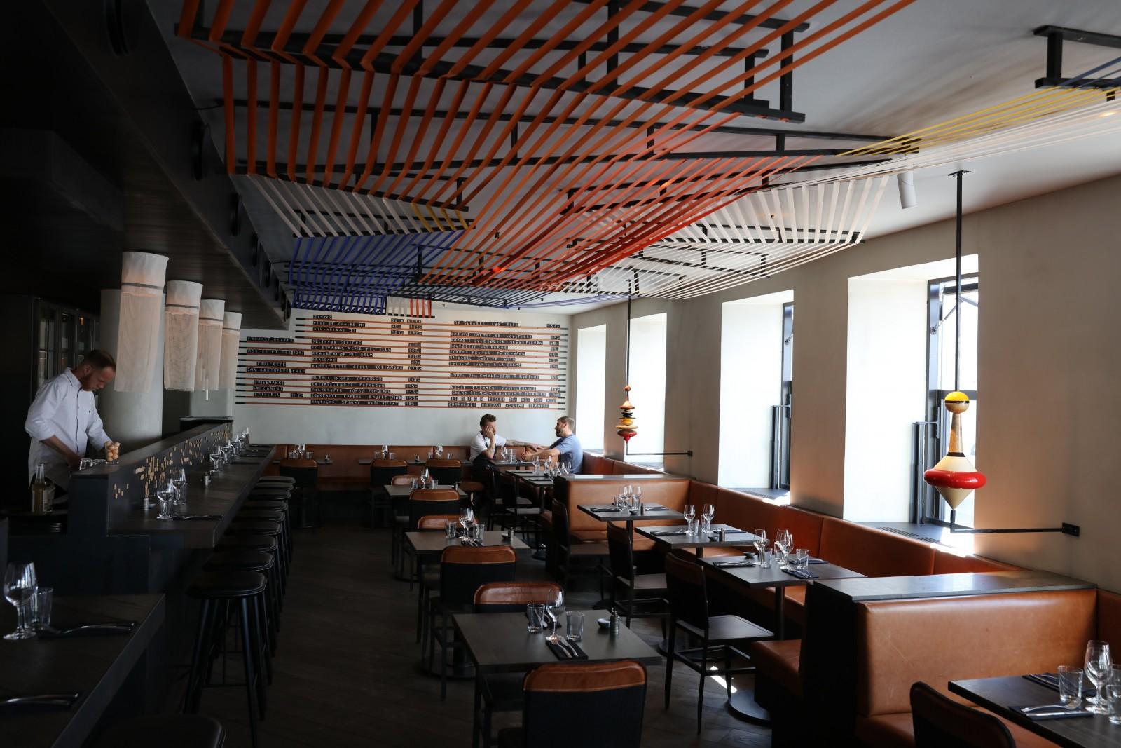 <h1>Restaurant Musling får kunstudsmykning</h1><h4>Belysning af kunst installation inden - og udendørs</h4>